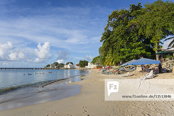 The Beach  Speightstown  St. Peter  Barbados  West Indies  Caribbean  Central America