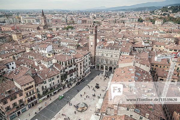 Cityscape  Verona  Veneto  Italy
