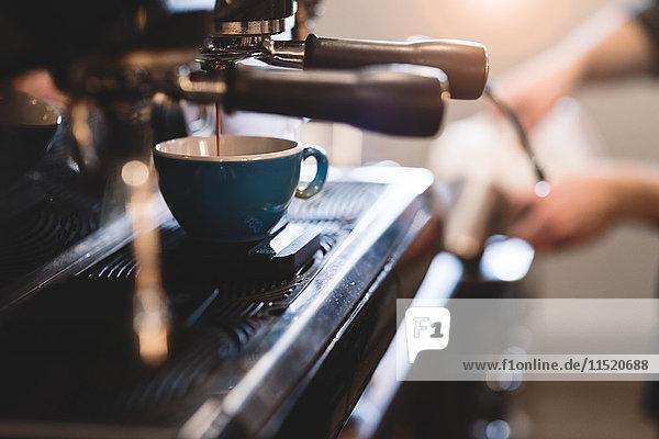 Füllbecher für Kaffeemaschine