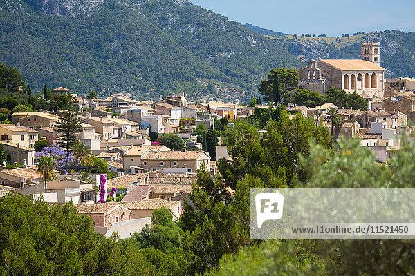 Ansicht von Wolkenstein  Mallorca  Spanien