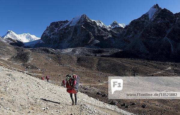 Nepal  Himalaya  Khumbu  Everest-Region  Cho la