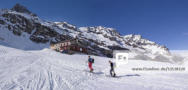 Italien  Rhemes-Notre-Dame  Benevolo  Skibergsteigen