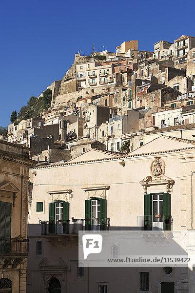 Italien  Sizilien  Modica  Stadtbild