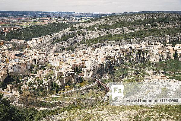 Spanien  Cuenca  Stadtbild