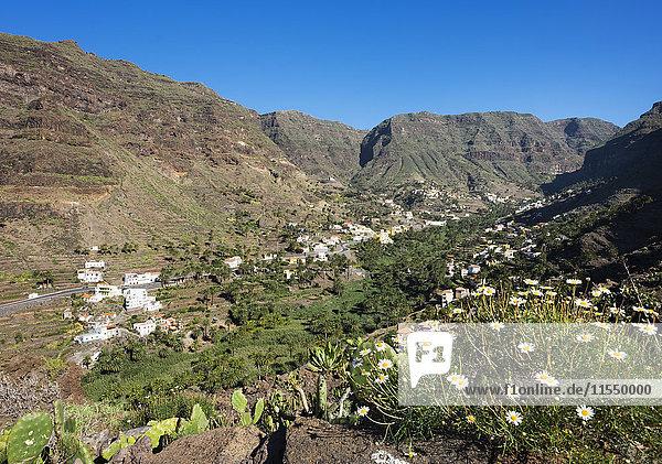 Spanien  Kanarische Inseln  La Gomera  Valle Gran Rey  Bergdorf Los Granados