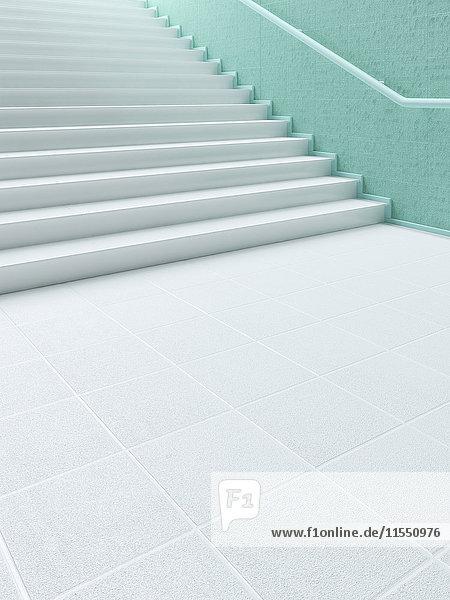 3D-Rendering  Treppe