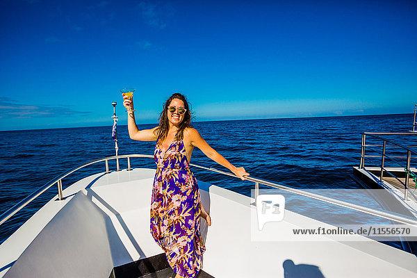 Sailing in the Galapagos Islands  Ecuador  South America