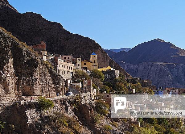 View of Iruya  Salta Province  Argentina  South America