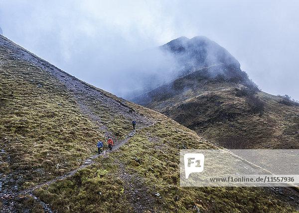 Großbritannien  Schottland  Glencoe  Trekking in Stob Coire Nan Lochan