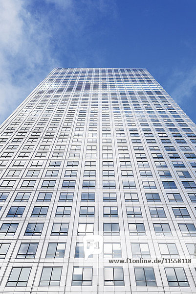 UK  London  vor einem Wolkenkratzer