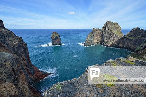 Portugal  Madeira  Naturschutzgebiet Ponta de Sao Lourenco  Halbinsel an der Ostküste