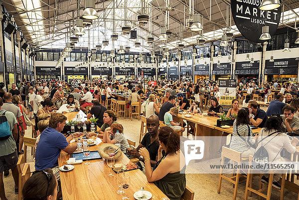'Mercado da Ribeira; Lisbon  Portugal'