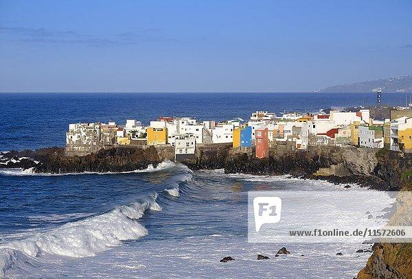 Punta Brava in Puerto de la Cruz  Teneriffa  Kanarische Inseln  Spanien  Europa