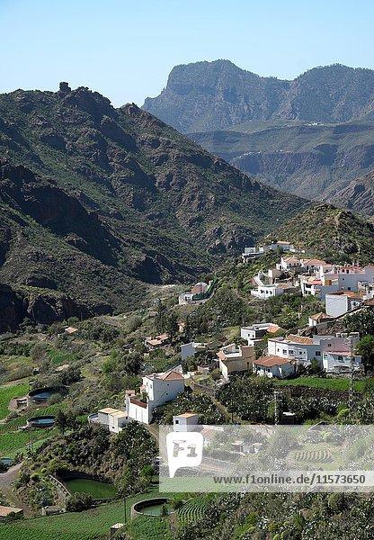 Tejeda  Caldera de Tejeda  Gran Canaria  Kanarische Inseln  Spanien  Europa