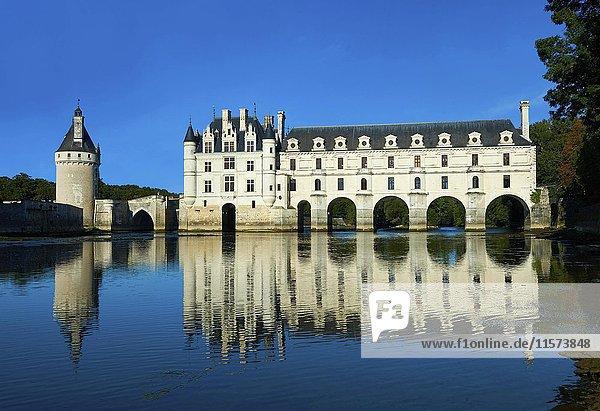 Schloss Chenonceau  Indre-et-Loire  Frankreich  Europa