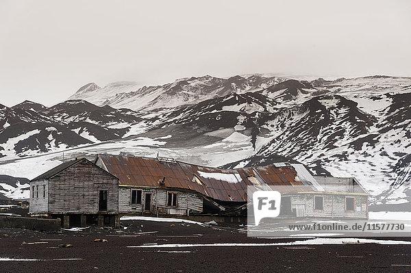 Alte norwegische Hektor-Walfangstation  Täuschungsinsel  Antarktis