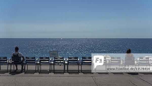 Frankreich  Südostfrankreich  Französische Riviera  Nizza  Promenade des Anglais