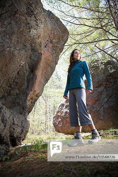 Active woman outdoors