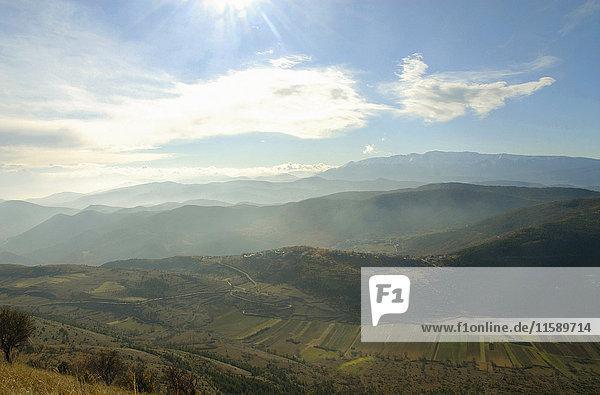 Abruzzen-Landschaft