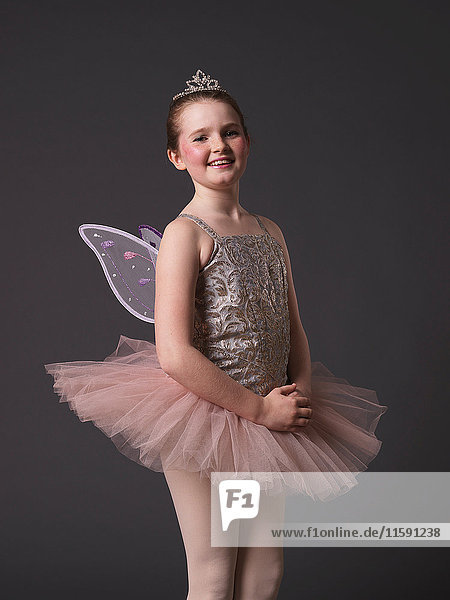 Ballerina in rosa Tutu.