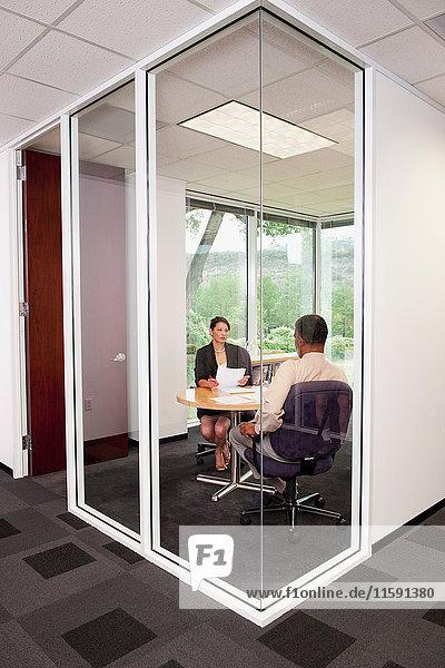 Geschäftliches Treffen