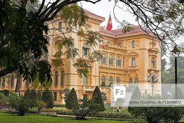 Presidential Palace  formerly Indochina's Governor General's Palace  Hanoi  Vietnam