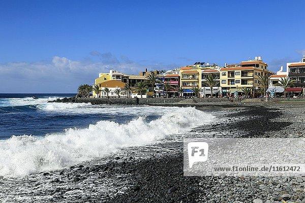 Strand-Ion-Sistrict La Playa  Valle Gran Rey  La Gomera  Kanarische Inseln  Spanien  Europa