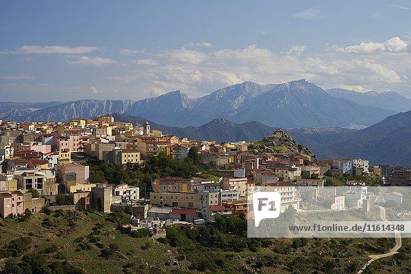 Bergdorf  Orune  Sardinien  Italien  Europa