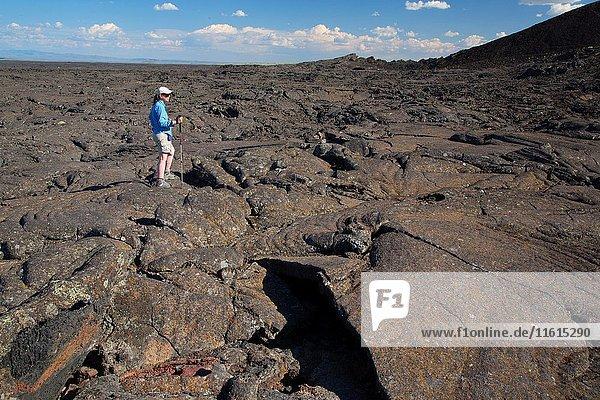 Lava flow  Jordan Craters Wilderness Study Area  Vale District Bureau of Land Management  Oregon.