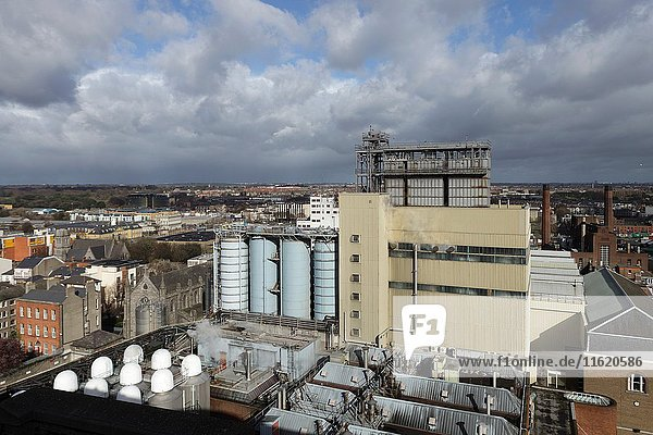 Guinness Factory  Dublin  Ireland  Europe