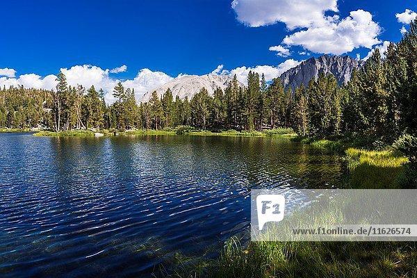 Big Pine Lake #4  John Muir Wilderness  Sierra Nevada Mountains  California USA.
