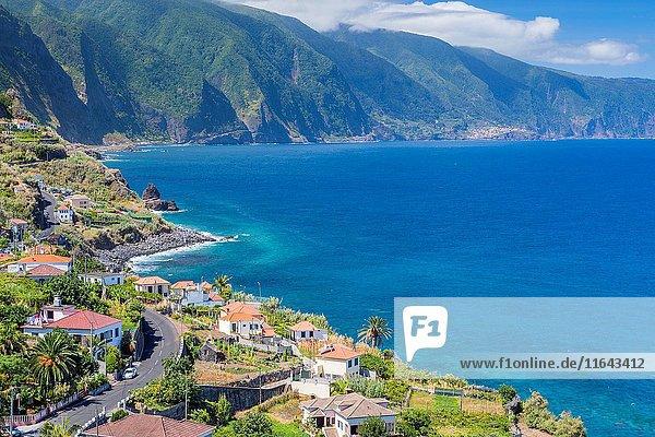 North Coast of Madeira  Ponta Delgada  Madeira  Portugal.