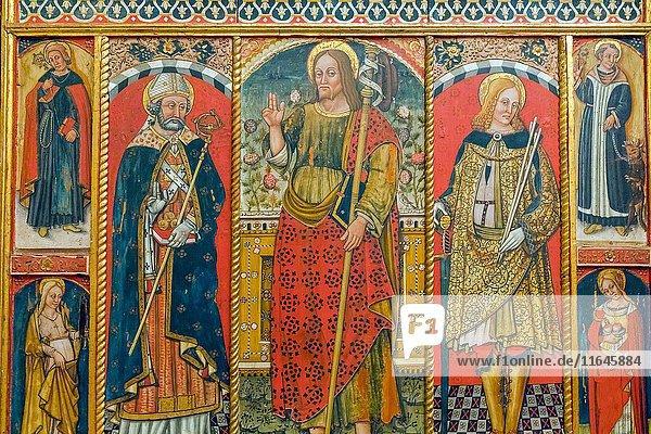 Old Bishop's Palace  Holy Art Museum  Albenga  Province of Savona  Liguria  Italy.