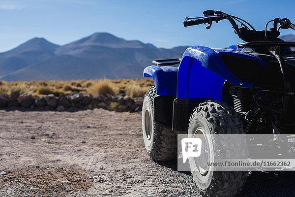 Quad bike  San Pedro de Atacama  Chile