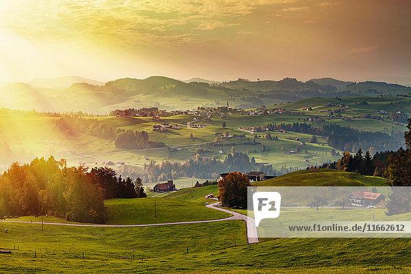 Landschaftsbild  Appenzell  Appenzellerland  Schweiz
