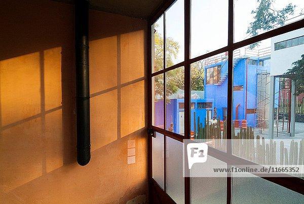 Museo Casa Estudio Diego Rivera y Frida Kahlo  San Angel  Mexico City  Mexico.