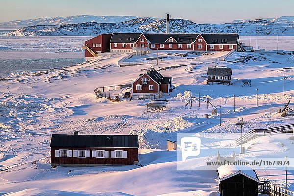 Town of Ilulissat  Greenland.