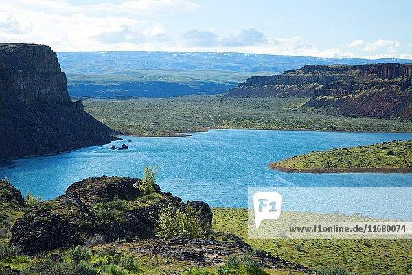Dusty Lake  Quincy Lakes Unit - Desert Basin Wildlife Area  Washington.