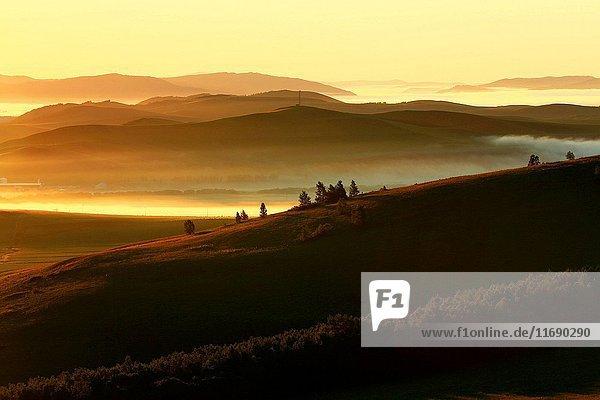 Hulun Buir Grassland scenery in Inner Mongolia