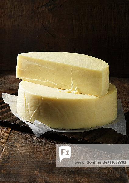 Nahaufnahme von Duddleswell-Käse