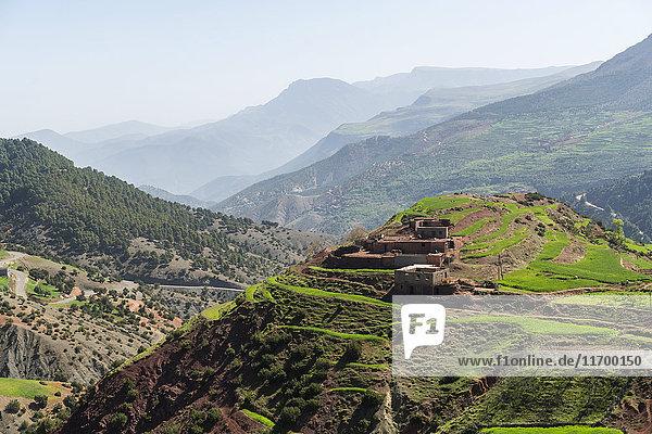 Marokko  Atlasgebirge im Ourika-Tal