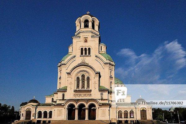 SOFIA BULGARIA Saint Alexander Nevsky Cathedral.