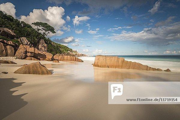 Strand Petite Anse  La Digue  Indischer Ozean  Seychellen  Afrika