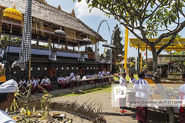 'Traditional Hindu temple; Bali Island  Indonesia'