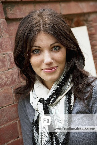 'Portrait Of A Young Woman; Edmonton  Alberta  Canada'