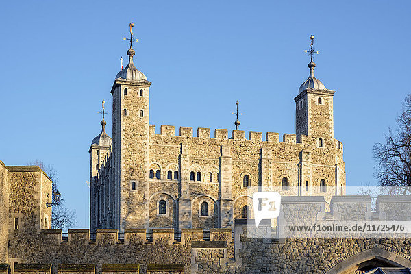 United Kingdom  England  London. Tower of London  White Tower.