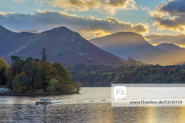 UK  England  Cumbria  Lake District  Keswick  Derwentwater
