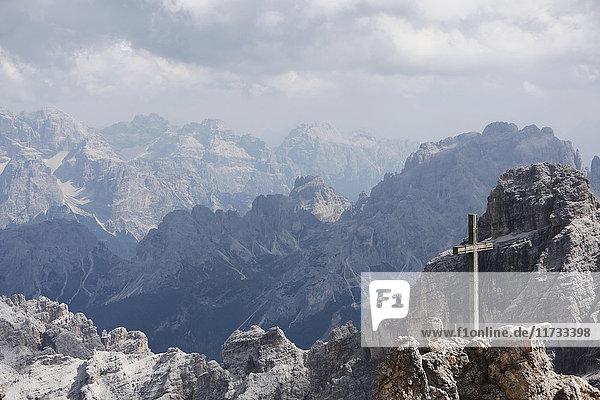 Via Ferrata  Monte Cristallo  Dolomites  Italy