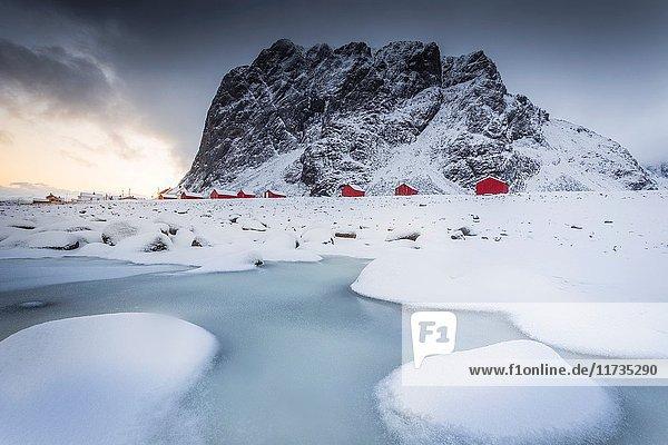 Eggum  Lofoten Islands  Norway.