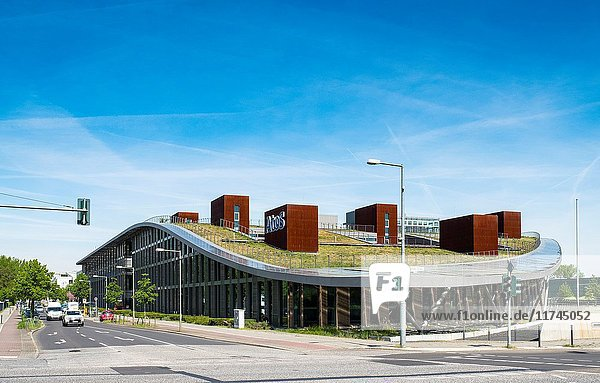 Atos Building at Adlershof Science and Technology Park Park in Berlin  Germany.